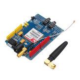 SIM900 Quad Banda GSM GPRS Shield Development Board Geekcreit para Arduino - produtos que funcionam com placas Arduino oficiais