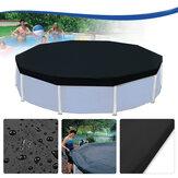 3.6m12Fuß-schützendeschwarzePool-Abdeckungfür über Boden-Rahmen-Swimmingpools