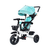 3 In 1 Baby Stroller Pushchair 3 Wheels Kids Tricycle Children Balance Bike 94-105cm Handle Adjustable for 6-36 Months Children