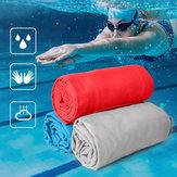 PrzenośnyrozmiarnazewnątrzSzybkii suchy ręcznik podróżny Kompaktowy, jednokolorowy ręcznik z mikrofibry do Camping Sport Gym Swimming