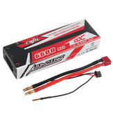 CNHL RACING SERIES 7.4V 6600mAh 100C 2S Lipo Battery T Plug for RC Car