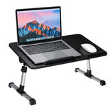 Foldable Laptop Desk Adjustable Height Computer Notebook Desk Breakfast Serving Table Bed Tray Home Office Furniture