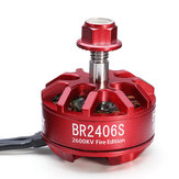Racerstar 2406 BR2406S Fire Edition 2600KV 2-4S Moteur Brushless Pour X220 250 280 300 RC Drone FPV Racing