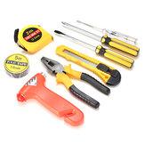 9 sztuk zestaw narzędzi do naprawy samochodów domowych kombinacja ręcznego narzędzia awaryjnego wspólny zestaw