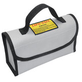 Portable Explosion-proof Fireproof LiPo Battery Safety Bag 220*100*75mm With Handle