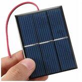 1.5V Multi Crystal Solar Pannels Mini Power Solar Cells Mini Batería Cargador con Alambre para motor Bombillas Solar Pantalla