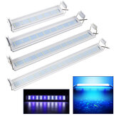30-60CM LED Aquarium Light Full Spectrum Plant Multi-Color Fish Tank Light Lamp US Plug