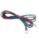 5X 1M 4Pines Cable de Motor de Pasos XH2.54 Macho Compatible con Serie MKS para la impresora 3D