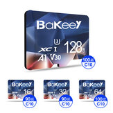 Bakeey BK-TF2 Flash Card 16GB 32GB 64GB 128GB Class 10 High Speed TF/SD Memory Card With Card Adapter For Mobile Phone for iPhone for Samsung Monitor Camera Drone