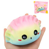 Galaxy Dumplings Squishy 12 * 7 * 7CM Slow Rising With Packaging Collection Gift Soft Toy