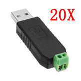 20pcs USB To RS485 Converter Module USB To TTL / RS485 Dual Function Dual Protection