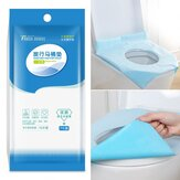 10 Pcs/Pack Disposable Toilet Seat Covers Anti-contact Waterproof Toilet Seat Lid Mat Camping Travel Toilet Pad One Size