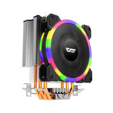 DarkFlash L5 RGB CPU Cooling Fan PC Case Cooler 120mm Radiator TDP 285W Heat Sink for Intel LGA775/2011/1151/1150/1155/1156/1366