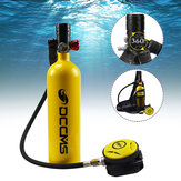 1L Scuba Diving Tank Set Mini Scuba Tank Dive Respirator Scuba Tank Storage Bag Travel Snorkel Underwater