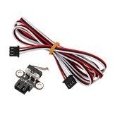 5pcs horizontal type interrupteur de fin de course mécanique avec 1m de câble pour les rampes de reprap d'imprimante 3d1.4