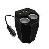 800W Peak Cup Tipo Car Power Inverter DC 12V a 220V com divisor Dual USB repelente de mosquitos e purificação de ar