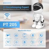 ESCAM 1080P Robot IP Cámara Seguridad Cámara 360 ° WiFi Inalámbrico 2MP CCTV Cámara Videovigilancia Smart Home P2P Hidden Baby Monitor