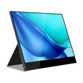 WEICHENSI DQ20 G + FF 1080P Touchable 17.3 Inch Type C Computadora portátil Monitor Gaming Pantalla Pantalla para Smartphone Tableta Consolas de juegos portátiles