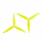 2 Pairs GEMFAN Hurricane Durable 3-Blade SL5125 5.1Inch Propeller Compatible with T-Mount toothpick Hyperbola 2004 motor