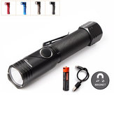 Nicron B74 XPL HD V5 480LM 4Modes Dimming Magnetic Tail 90° Adjustable Head Portable LED Flashlight