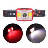 XANESYD-21550LMXPELED+ 2 * COB LED 5 طرق متعددة الوظائف دراجة المصباح USB Mini Mini Headlamp