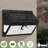 44 LED Solar Power Wall Light Security Outdoor Garden Motion Activated Yard Lamp