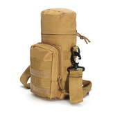KCASA KC-BC05 Molle Wasserflasche Carrier Travel Climb Outdooor Taillengürtel Tactical Kessel Bag Halter