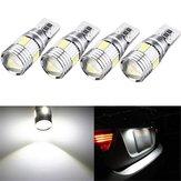 T10 W5W 5630 LED Feux de position latéraux de voiture Canbus Lampe de cale sans erreur 12V 2.5W Blanc 4Pcs