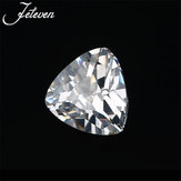12X12MM Trillion Cut Unheated 10.28Ct White Sapphire AAAA+ Loose Gemstone Decorations
