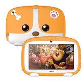 Binai A9 RK3126 Czterordzeniowy 1 GB RAM 16G ROM Android 9.0 7-calowy tablet dziecięcy Pomarańczowy