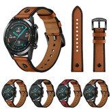 Bakeey 22mm Piel Genuina Reloj inteligente con correa de repuesto Banda para reloj Huawei GT2 46MM