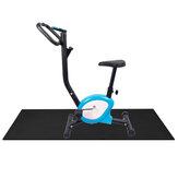 150x75 CM Esteiras para bicicleta ergométrica Motocicleta elíptica Esteiras antiderrapantes Aptidão Yoga Esteiras absorventes de choque