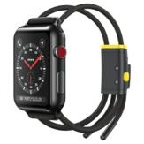 Baseus 38/40/42/44 mm de largura Cordas duplas ocas Design Relógio Banda Correia de substituição para Apple Watch Series 3/4/5
