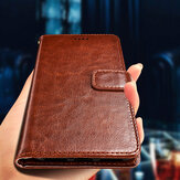 Bakeey Flip Card Slot Wallet PU Leather Schockproof Protection Caso para Sharp Aquos S2