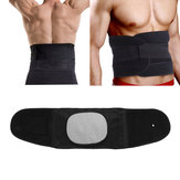 Adjustable Lower Back Support Sports Double Pull Strap Lumbar Brace Posture Belt Protector