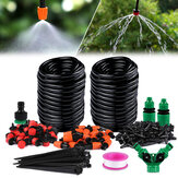 149Pcs DIY Micro Drip Irrigation System Garden Automatic Watering Kits With Adjustable Nozzles Courtyard Cooling Systerm