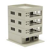 أوتلاند نماذج السكك الحديدية الحديثة 4-قصة مبنى المكاتب غير مصبوغ 1: 160 ل غندام