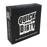 Quick and Dirty Fun Party Board Game Card Party Home Game Decoration