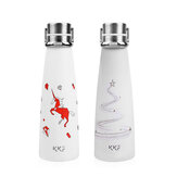 KISSKISSFISH [ Limited ]Smart Vacuum Th-ermos Water Bottle Th-ermos Cup Portable Water Bottles