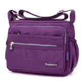Nylon Waterproof Light Weight Crossbody Bag Shoulder Bag