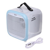 Portable Tabletop Cooler Fan Home 2 Speeds USB Mini Atomization Air Conditioner