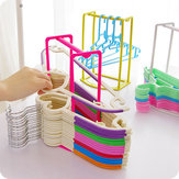 Creative Clothes Hanger Storage Rack Multifunctional Clothespin Oraganizer Holder