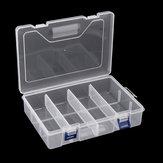 F240 234x168x62MM Двухслойный компонент Коробка Запчасти Коробка Хранение Коробка Инструмент Коробка Электронный компонент Коробка