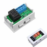 Mini 12V 20A Digitale LED Dual Display Timer Relaismodule met Case Timing Delay Cycle