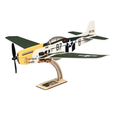 KIT / PNP, minimum RC P-51 Mustang 4CH, Envergure de 360 mm