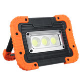 10W COB LED Floodlight Outdoor Camping Work Lamp Rechargeable Charging Light