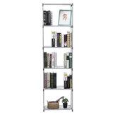 4/6 Tiers Cube Rak Penyimpanan Rak Berdiri Kabinet Display Rack Organizer Untuk Rumah Kantor Ruang Tamu