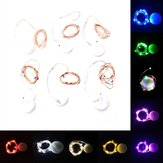 Battery Powered Mini 1M 10LEDs Copper Wire Fairy String Light for Christmas Patio