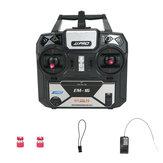 JJRC JJPRO EM-16 2,4 GHz 6CH AFHDS 2A Modo 2 Transmissor RC com suporte de receptor P175 para drone RC