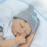 NPK 22inch Reborn Baby Doll 100% hecho a mano Lifelike Full Body completo Silicona Action Figure Toy
